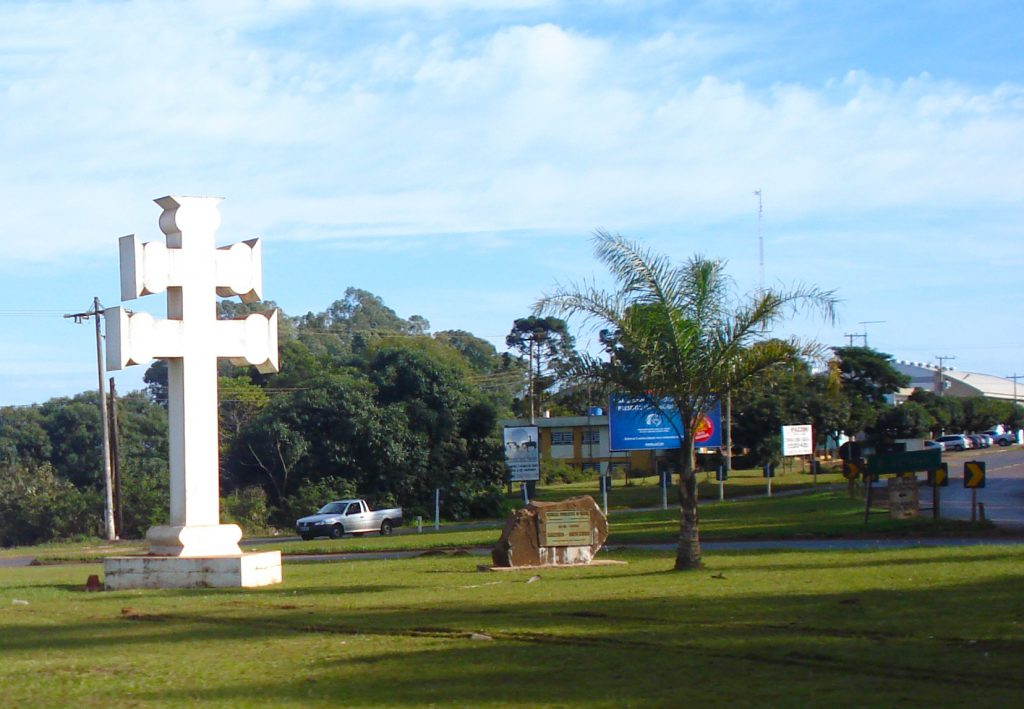 Cruz símbolo das reduções jesuíticas