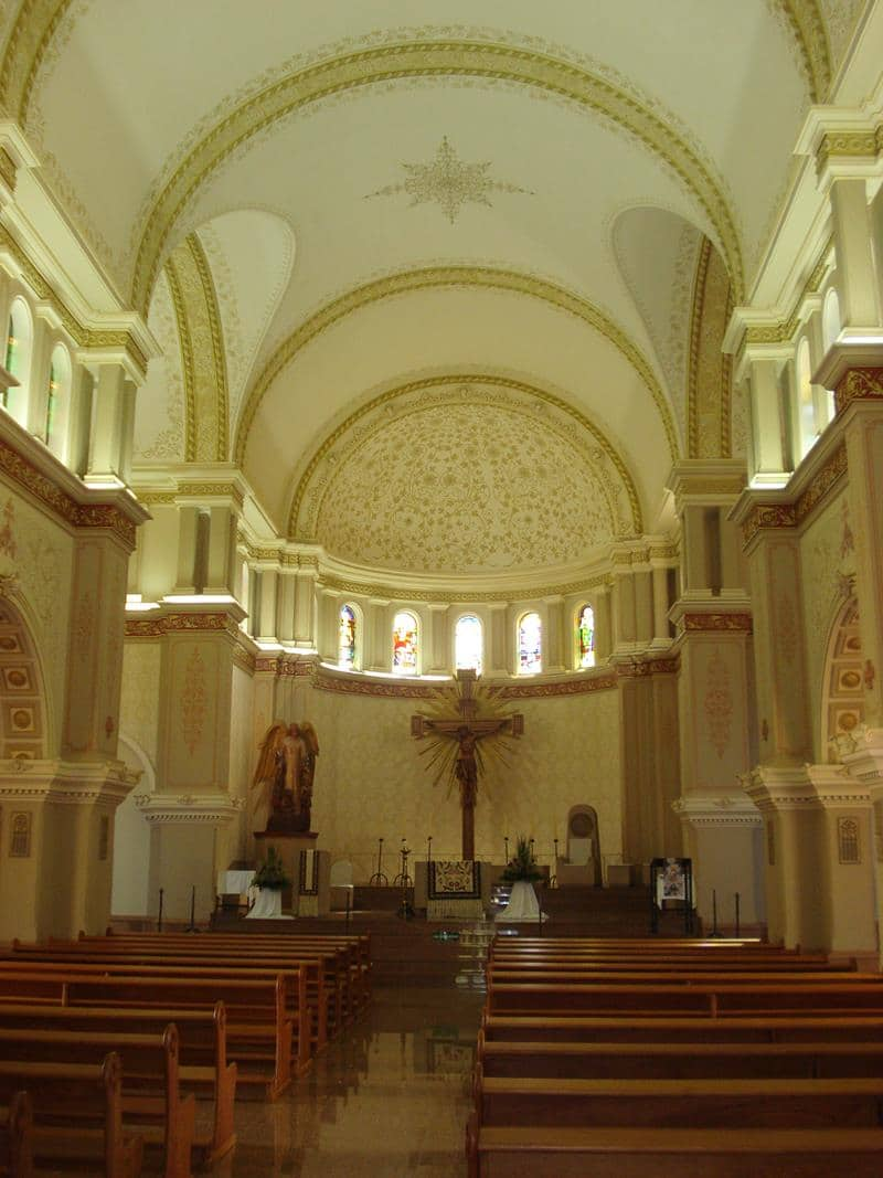 Nave central da Catedral