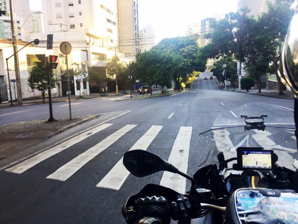 Saindo de Belo Horizonte