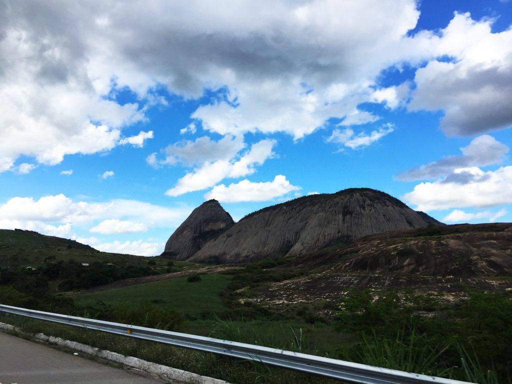 As paisagens pelo caminho