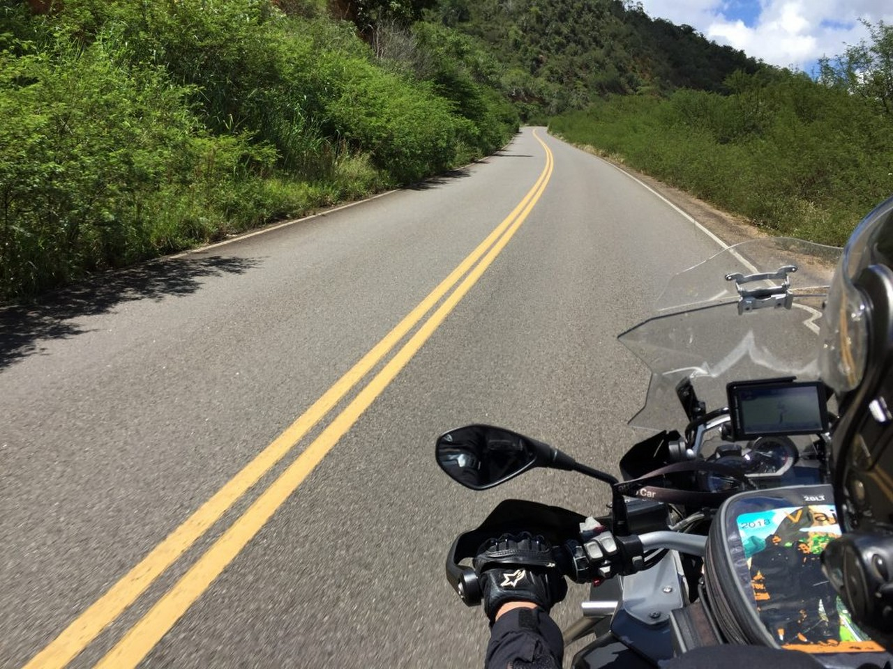 2 ° trecho viagem de moto