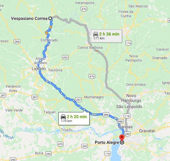 localização viaduto 13