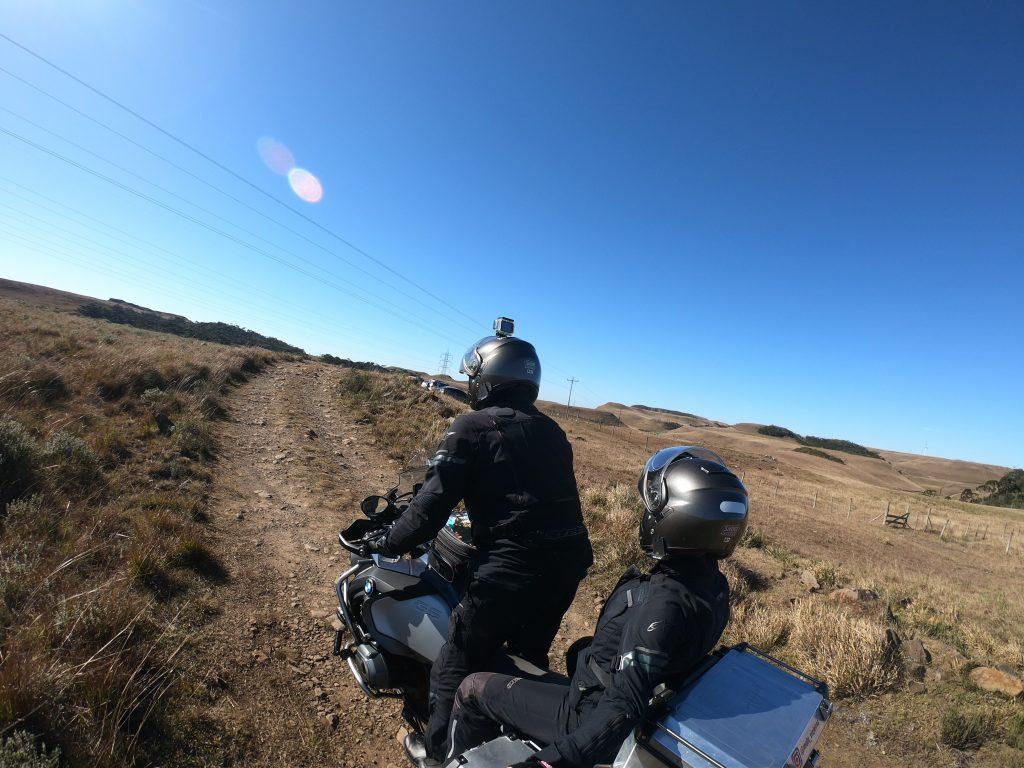 estrada de acesso ao cânion do funil